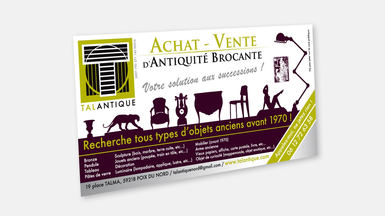 Flyer Talantique